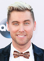 LOS ANGELES, CA, USA - NOVEMBER 23: Lance Bass arrives at the 2014 American Music Awards held at Nokia Theatre L.A. Live on November 23, 2014 in Los Angeles, California, United States. (Photo by Xavier Collin/Celebrity Monitor)