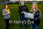 Launching the Austin Stacks online bingo at the club on Friday evening. Front right: Eileen Nagle. Back l to r: Mary Fitzmaurice and Shane Lynch.