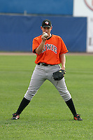 August 18, 2005:  Pitcher Chris Ray of the Bowie BaySox during a game at Metro Bank Park in Harrisburg, PA.  Bowie is the Eastern League Double-A affiliate of the Baltimore Orioles.  Photo by:  Mike Janes/Four Seam Images