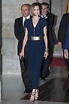 Queen Letizia of Spain attends the 'Barco de Vapor' literature awards at the Casa de Correos in Madrid, Spain. April 21, 2015. (ALTERPHOTOS/Victor Blanco)