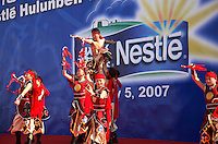 Opening ceremony for the new Neslte Hulunbeier factory in Erguna, Inner Mongolia, China...