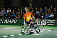 Rotterdam, The Netherlands, February 12, 2016,  ABNAMROWTT, Gordon Reid (GBR)<br /> Photo: Tennisimages/Henk Koster