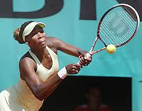 6-6-06,France, Paris, Tennis , Roland Garros, Venus Williams