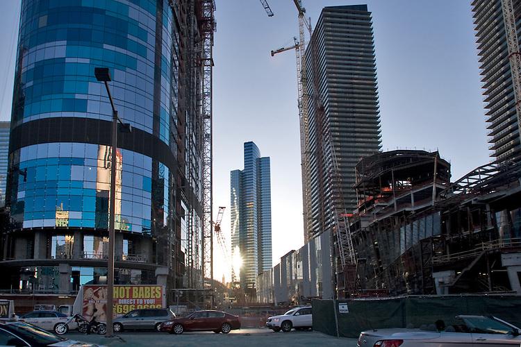 U.S.A., America, Nevada, Las Vegas, new construction, CityCenter Las Vegas, MGM Mirage, development,