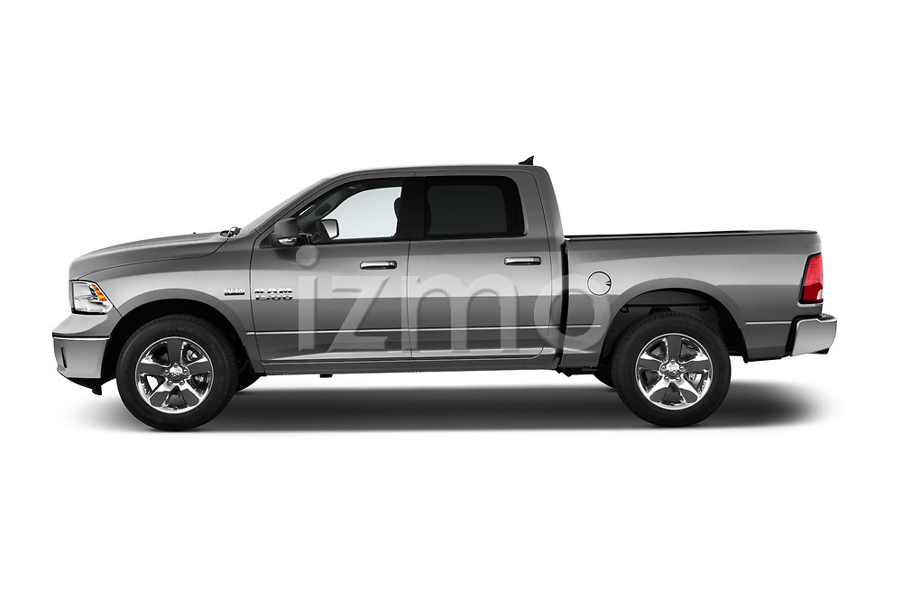 Driver side profile view of a <br /> 2013 Dodge RAM 1500 Big Horn Crew Cab