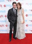 Eric McCormack and Janet Holden  at The 37th AFI Life Achievement Award held at Sony Picture Studios  in Culver City, California on June 11,2009 and will air on TV Land July 19th,2009 at 9:00 PM ET/PT                                                                    Copyright 2009 DVS / RockinExposures