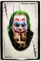 BNPS.co.uk (01202) 558833. <br /> Pic: Ewbank'sAuctions/BNPS<br /> <br /> Pictured: This poster for Joker sold for £525. <br /> <br /> A selection of classic horror and sci-fi film posters have sold for £85,000.<br /> <br /> The marquee lot was a British quad 30ins by 40ins poster for Forbidden Planet which fetched £12,000, three times its estimate.<br /> <br /> It features the memorable first image of Robby the Robot holding a damsel in distress.<br /> <br /> A poster promoting the Christopher Lee film Dr Terror's House of Horrors (1965) also outperformed expectations, selling for £2,750, while one advertising the first Star Wars film (1977) fetched £4,750.<br /> <br /> The posters, which were consigned by different collectors, sparked a bidding war with Ewbank's Auctions, of Woking, Surrey.