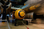 """Atomic bomb """"Fat Boy"""" on display at the National Museum of the United States Air Force, Dayton, Ohio, USA"""