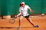 New Zealand tennis player Valentina Ivanov during Tennis Junior Fed Cup in Madrid, Spain. September 30, 2015. (ALTERPHOTOS/Victor Blanco)
