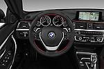 Car pictures of steering wheel view of a 2016 BMW 4 Series 428I 2 Door Convertible Steering Wheel