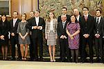 Princess Letizia of Spain attends audience with some members of the regional media Diario de Jaen.November 19,2012. (ALTERPHOTOS/Acero)
