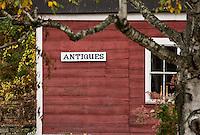 Antique shop, Jamaica, Vermont, USA