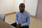 Stanley Howard who was tortured by detectives working with former Chicago Police Commander Jon Burge in the Dixon Correctional Center in Dixon, Illinois on April 24, 2018.