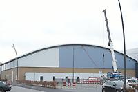 SCHAATSEN: HEERENVEEN: 17-12-2018, IJsstadion Thialf, onderzoek IJshockeyhal, ©foto Martin de Jong