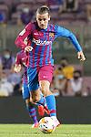 FC Barcelona's Antoine Griezmann during La Liga match. August 15, 2021. (ALTERPHOTOS/Acero)