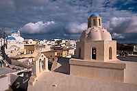 Kirche Agios Demetrius in Messaria, Insel Santorin (Santorini), Griechenland