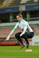 Swiss goalkeeper Elvira Herzog (12)  pictured during a female soccer game between the national teams of Belgium , called the Red Flames and Switzerland on the 8 th and last matchday in group H for the qualification for the Womens EURO 2022 in England , on Tuesday 1 th of December 2020  in Leuven , Belgium . PHOTO SPORTPIX.BE   SPP   DIRK VUYLSTEKE