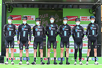 20th April 2021; Cycling Tour of the Alps Stage 2, Innsbruck, Feichten Im Kaunertal Austria; Romain Bardet Team DSM and team mates