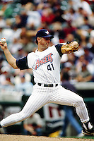 Tim Belcher of the Anaheim Angels during a game circa 1999 at Angel Stadium in Anaheim, California. (Larry Goren/Four Seam Images)