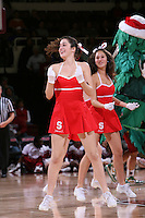 10 January 2008:  The Stanford Dollies during Stanford's 81-45 win over Oregon State at Maples Pavilion in Stanford, CA.