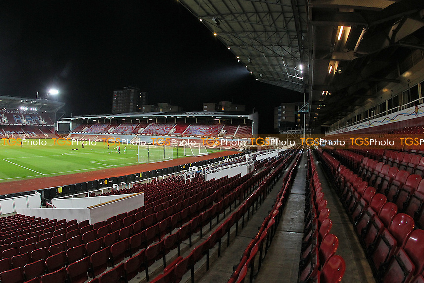 General view of the ground ahead of kick-off during West Ham United Ladies vs Tottenham Hotspur Ladies, FA Women's Premier League Football at the Boleyn Ground, Upton Park