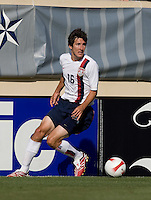 Sacha Kljestan looks for a teammate. The USA defeated China, 4-1, in an international friendly at Spartan Stadium, San Jose, CA on June 2, 2007.