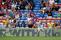 Vedad Ibišević of Hertha Berlin celebrates his goal during the pre season friendly match between Crystal Palace and Hertha BSC at Selhurst Park, London, England on 3 August 2019. Photo by Carlton Myrie / PRiME Media Images.