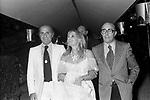 ROMA 1977 LELLO BERSANI, GIORGIO BRACARDI E MARIA GIOVANNA ELMI