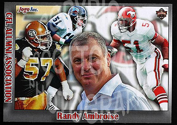 Randy Ambrosie-JOGO Alumni cards-photo: Scott Grant