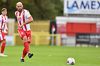 Scott Cuthbert of Stevenage F.C. during Stevenage vs Salford City, Sky Bet EFL League 2 Football at the Lamex Stadium on 3rd October 2020