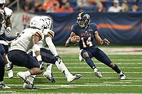 SAN ANTONIO, TX - SEPTEMBER 29, 2018: The University of Texas at San Antonio Roadrunners defeat the University of Texas at El Paso Miners 30-21 at the Alamodome. (Photo by Jeff Huehn)