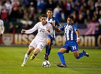 Alejandro Bedoya, Osman Chavez.USA vs Honduras, Saturday Jan. 23, 2010 at the Home Depot Center in Carson, California. Honduras 3, USA 1.
