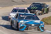 #19: Martin Truex Jr., Joe Gibbs Racing, Toyota Camry Auto-Owners Insurance, #11: Denny Hamlin, Joe Gibbs Racing, Toyota Camry FedEx Ground