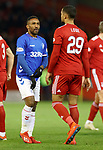 06.02.2019:Aberdeen v Rangers: Jermain Defoe and Max Lowe