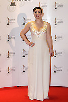 12/2/11 Sinead Desmond on the red carpet at the 8th Irish Film and Television Awards at the Convention centre in Dublin. Picture:Arthur Carron/Collins