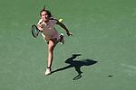 March 18, 2018: Daria Kasatkina (RUS) defeated by Naomi Osaka (JPN) 6-3, 6-2 in the Finals of the BNP Paribas Open at the Indian Wells Tennis Garden in Indian Wells, California. ©Mal Taam/TennisClix/CSM