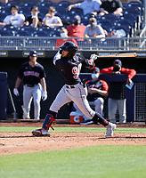 George Valera - Cleveland Indians 2021 spring training (Bill Mitchell)