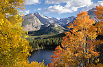 Fall color, autumn, Rocky Mountain National Park, Colorado, USA
