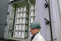 """- centrale elettronucleare di Trino, in via di disattivazione da parte della società Sogin, responsabile per lo smantellamento degli impianti nucleari italiani dopo i referendum popolari del 1987 e del 2011. """"Test tank"""" per il deposito delle scorie radioattive.<br /> <br /> - Trino nuclear power station, in the process of deactivation by the company Sogin, responsible for decommissioning of Italian nuclear plants after the popular referendums of 1987 and 2011. """"Test tank"""" for radioactive waste storage."""