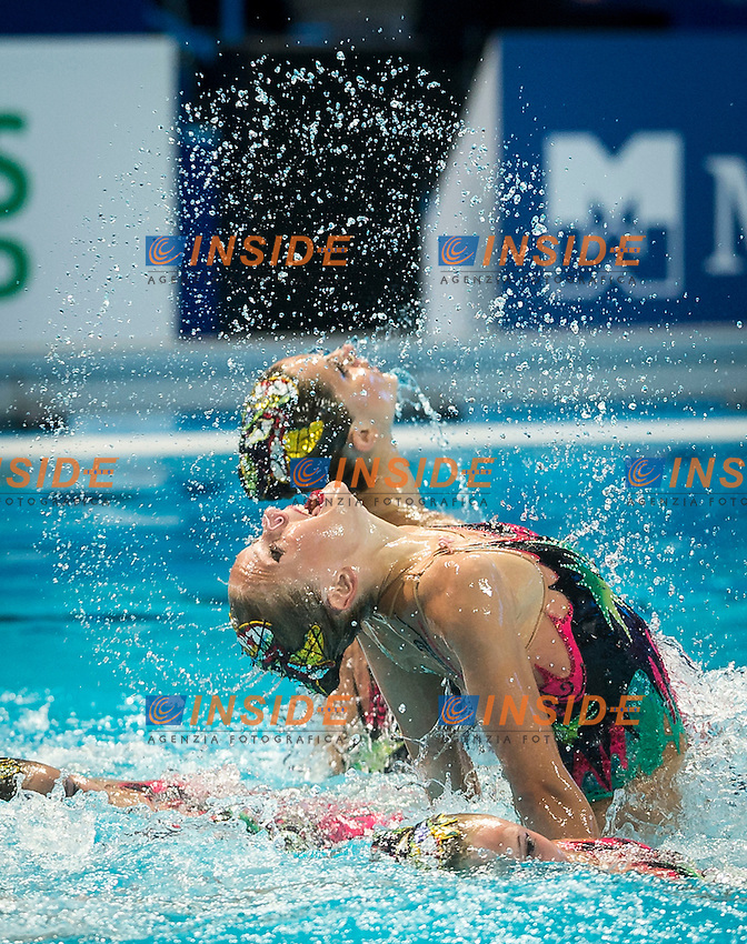 BLR - Belarus<br /> LIMANOUSKAYA Iryna NAVASIOLAVA Anastasiya<br /> SHULHINA Hanna TALEIKO Volha<br /> TARAKHOVICH Anastasiya TSYPLAKOVA Dominika<br /> VALASACH Valeryia WARDAK Elmira<br /> YESIPOVICH Veronika ZHYSHKEVICH Iya<br /> Day 9 01/08/2015<br /> XVI FINA World Championships Aquatics<br /> Synchro<br /> Kazan Tatarstan RUS July 24 - Aug. 9 2015 <br /> Photo Giorgio Scala/Deepbluemedia/Insidefoto