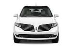 Car photography straight front view of a 2018 Lincoln MKT Reserve 5 Door SUV