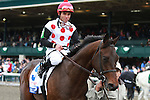 16 April 2011.  Brilliant Speed and Joel Rosario win the 87th running of the Toyota Blue Grass GRI $750,000 at Keeneland Racecourse.