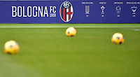 Logo of Bologna FC is seen prior to the Serie A football match between Bologna FC and AC Milan at Renato Dall'Ara stadium in Bologna (Italy), January 30th, 2021. Photo Andrea Staccioli / Insidefoto