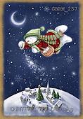Roger, CHRISTMAS SANTA, SNOWMAN, paintings(GBRM257,#X#) Weihnachtsmänner, Schneemänner, Weihnachen, Papá Noel, muñecos de nieve, Navidad, illustrations, pinturas