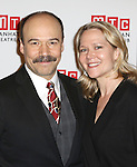 Danny Burstein and Rebecca Luker attending the Manhattan Theatre Club's 2014 Spring Gala at Cipriani 42nd Street on May 19, 2014 in New York City.
