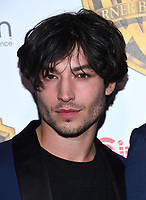 Ezra Miller @ the photocall for WB films presentation held @ The Colosseum at Caesars Palace.<br /> March 29, 2017 , Las Vegas, USA. # CINEMA CON 2017 - PHOTOCALL WB STUDIOS