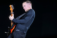 Bryan Adams performs during a concert at the Festival d'ete de Quebec in Quebec City Sunday July 13, 2014.