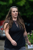 2019 08 16 Carla Louise Evans, Newport Crown Court, Wales, UK