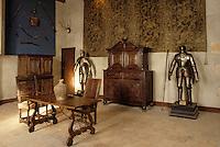 Europe/France/Auverne/63/Puy-de-Dôme/Aigueperse: Le Château de La Roche Aigueperse - La salle des Gardes