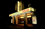 Bingo UK  The Jasmine Bingo Club exterior. north London. 1990s 90s